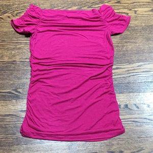 Pink Cap Sleeve Top